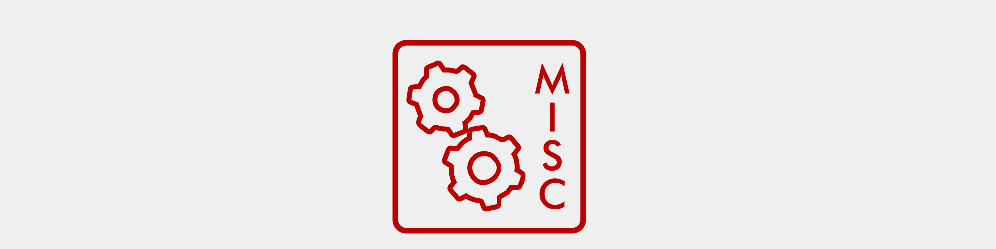 Misc. printed products icon